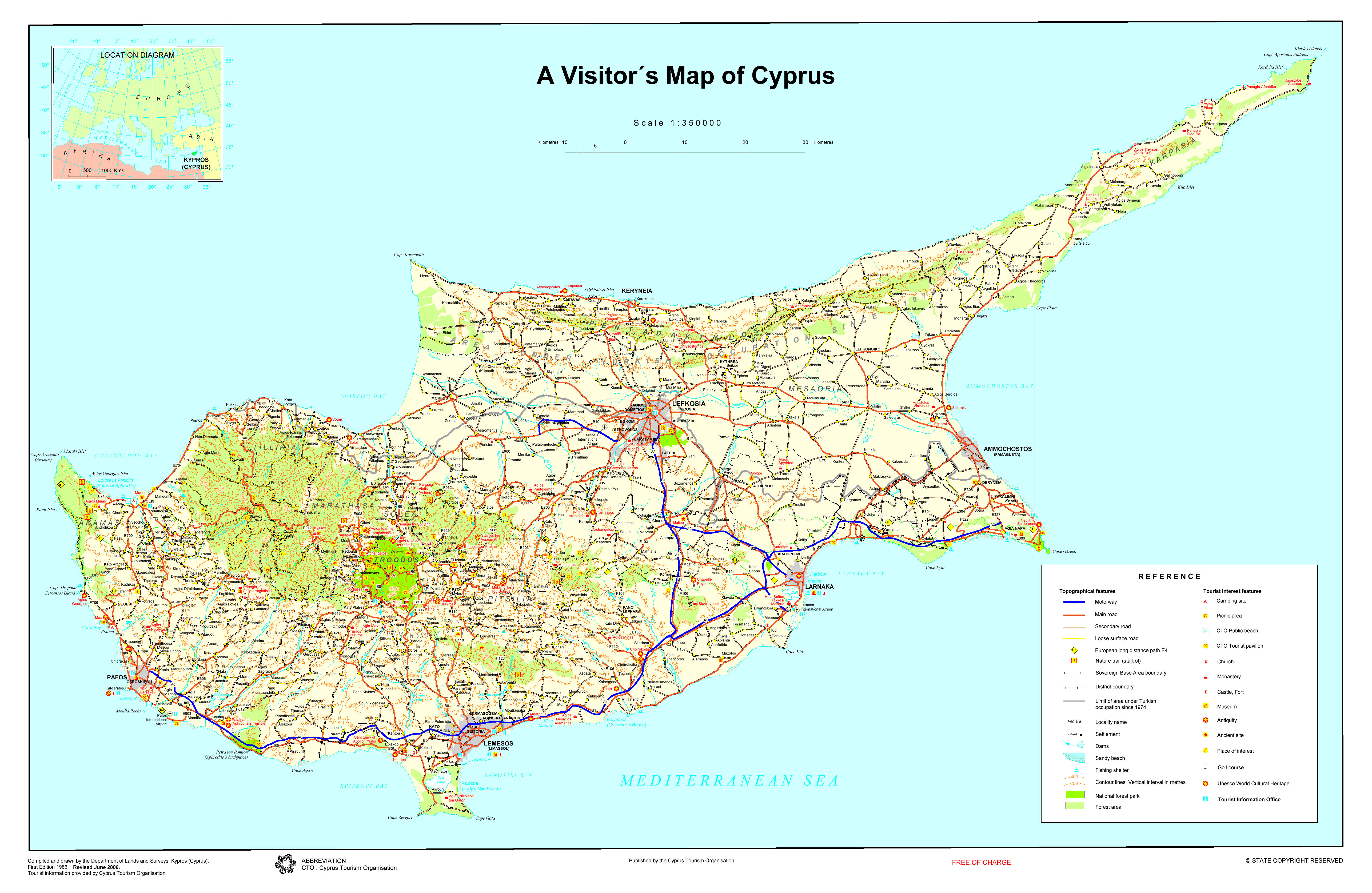 Maps a visitors map of cyprus gumiabroncs Gallery