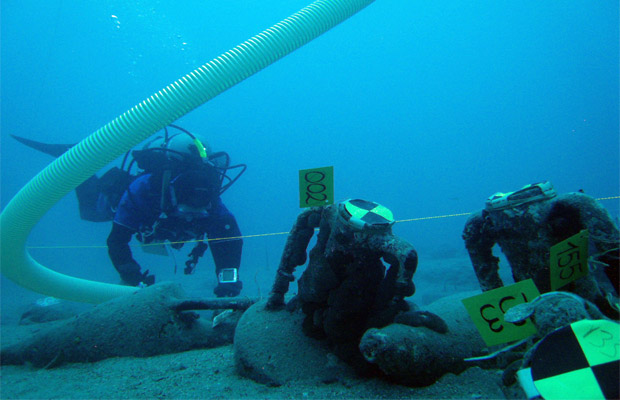 Underwater Archaeology - Ενάλια Αρχαιολογία: Mazotos Shipwreck Excavation