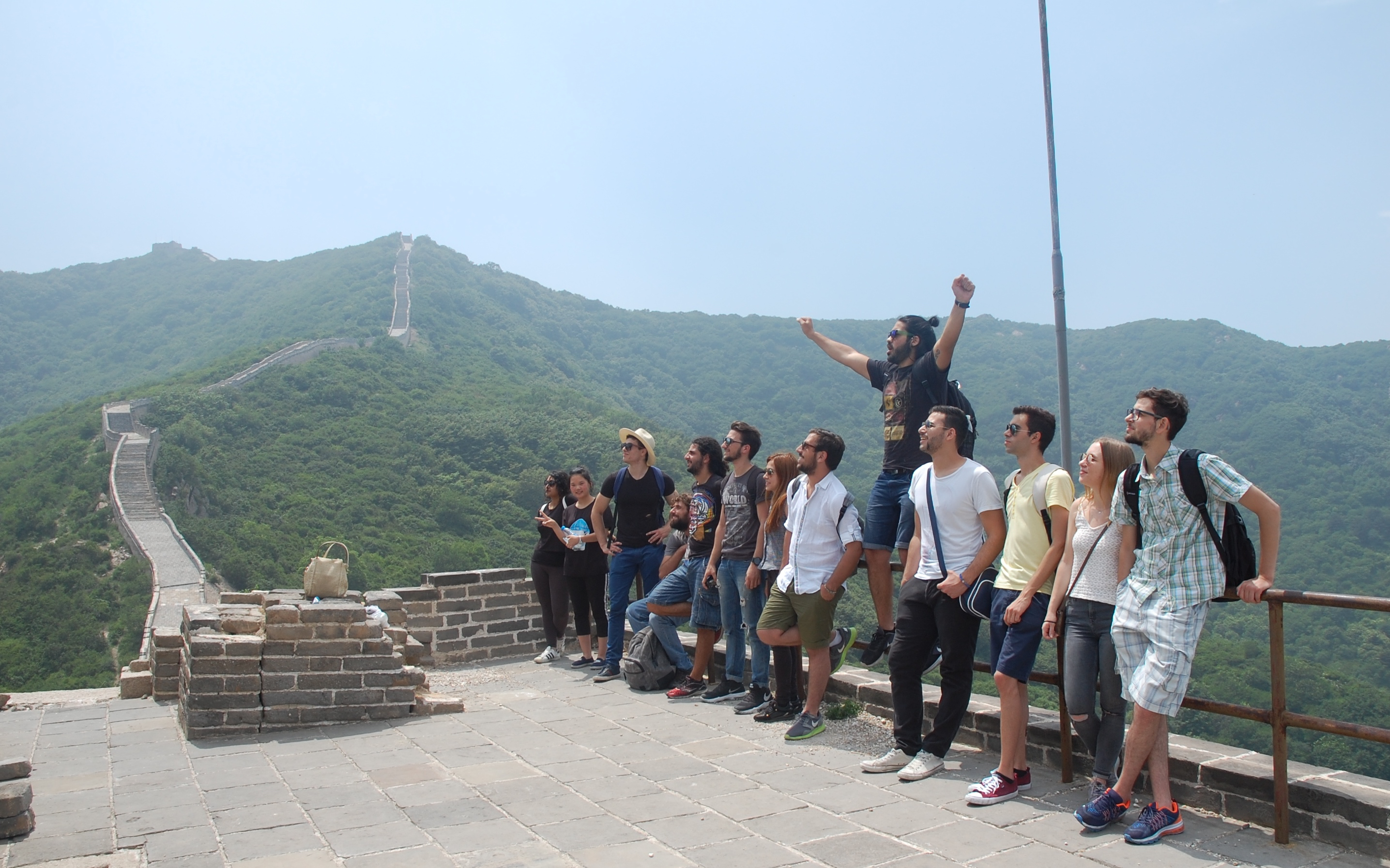 9 At the Great Wall